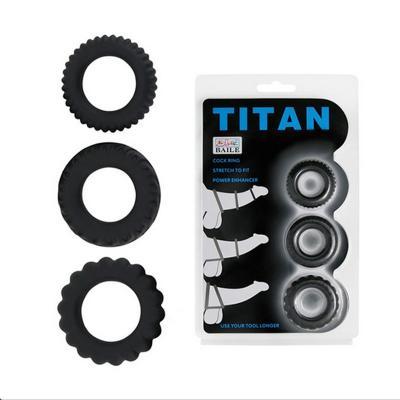 Bộ 3 vòng gai titan giữ cương cứng